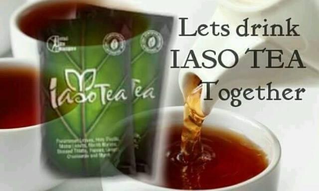 iaso tea taza